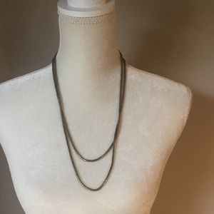 4 for $12: Simple Gold Tone Necklace